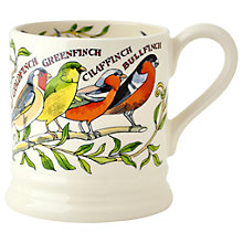 Buy Emma Bridgewater Garden Birds Half Pint Mug, Multi, 300ml Online at johnlewis.com
