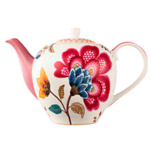Buy PiP Studio Fantasy Teapot, Pink Online at johnlewis.com