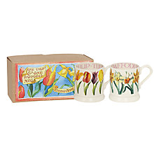 Buy Emma Bridgewater Flowers Half Pint Mugs, Set of 2 Online at johnlewis.com