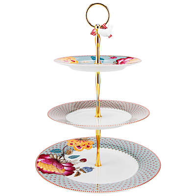 Product photo of Pip studio bloomingtales 3 tier cake stand blue