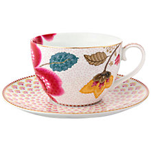 Buy PiP Studio Fantasy Cappuccino Cup and Saucer Online at johnlewis.com