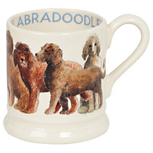 Buy Emma Bridgewater Labradoodle Half Pint Mug, Multi, 284ml Online at johnlewis.com