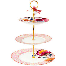 Buy PiP Studio Bloomingtales 3 Tier Cake Stand Online at johnlewis.com