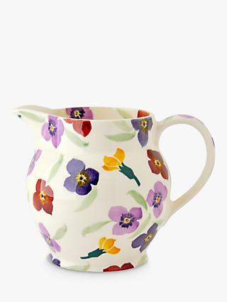 Emma Bridgewater Wallflower 1.5 Pint Jug, Multi, 900ml