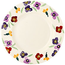 Buy Emma Bridgewater Wallflower Dinner Plate, Multi, Dia.28cm Online at johnlewis.com