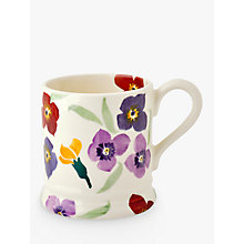 Buy Emma Bridgewater Wallflower Half Pint Mug, Multi, 310ml Online at johnlewis.com