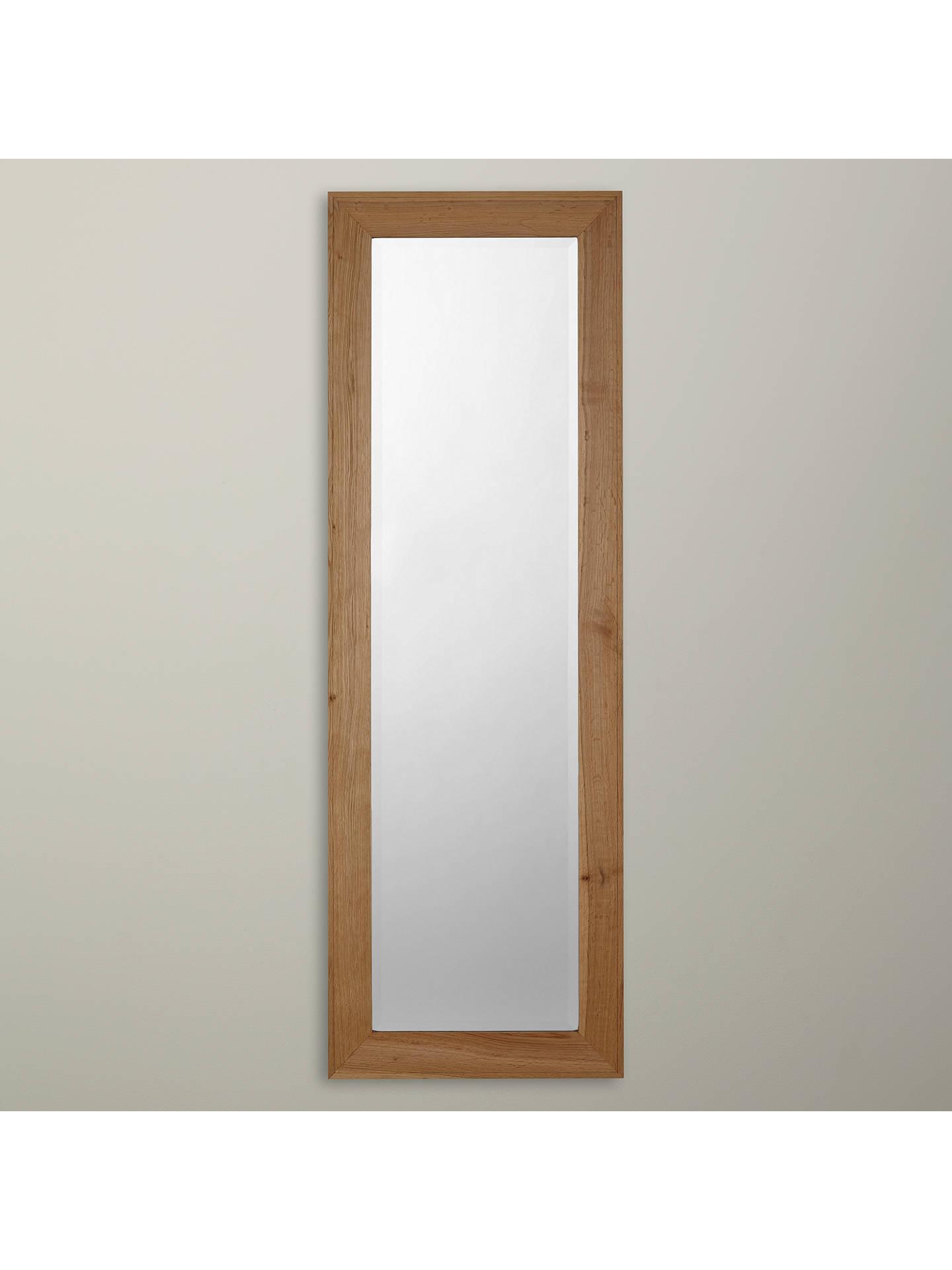 John Lewis Croft Oak Full Length Mirror 150 X 50cm At Johnlewis Com