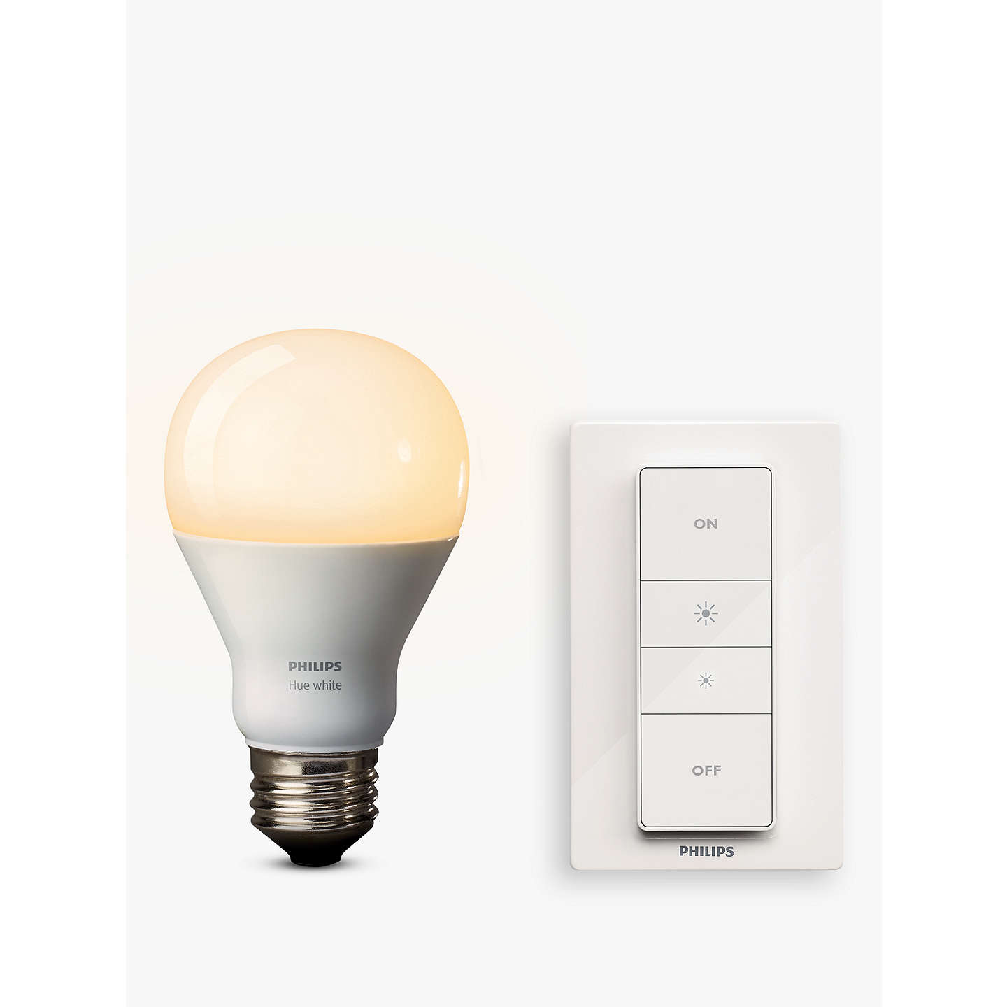 philips hue white led wireless dimming kit at john lewis. Black Bedroom Furniture Sets. Home Design Ideas