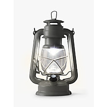 Buy John Lewis Vermont LED Gloss Lantern, Grey Online at johnlewis.com
