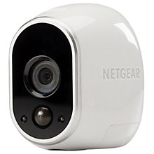 Buy Netgear Arlo Add-On HD Security Camera, White Online at johnlewis.com