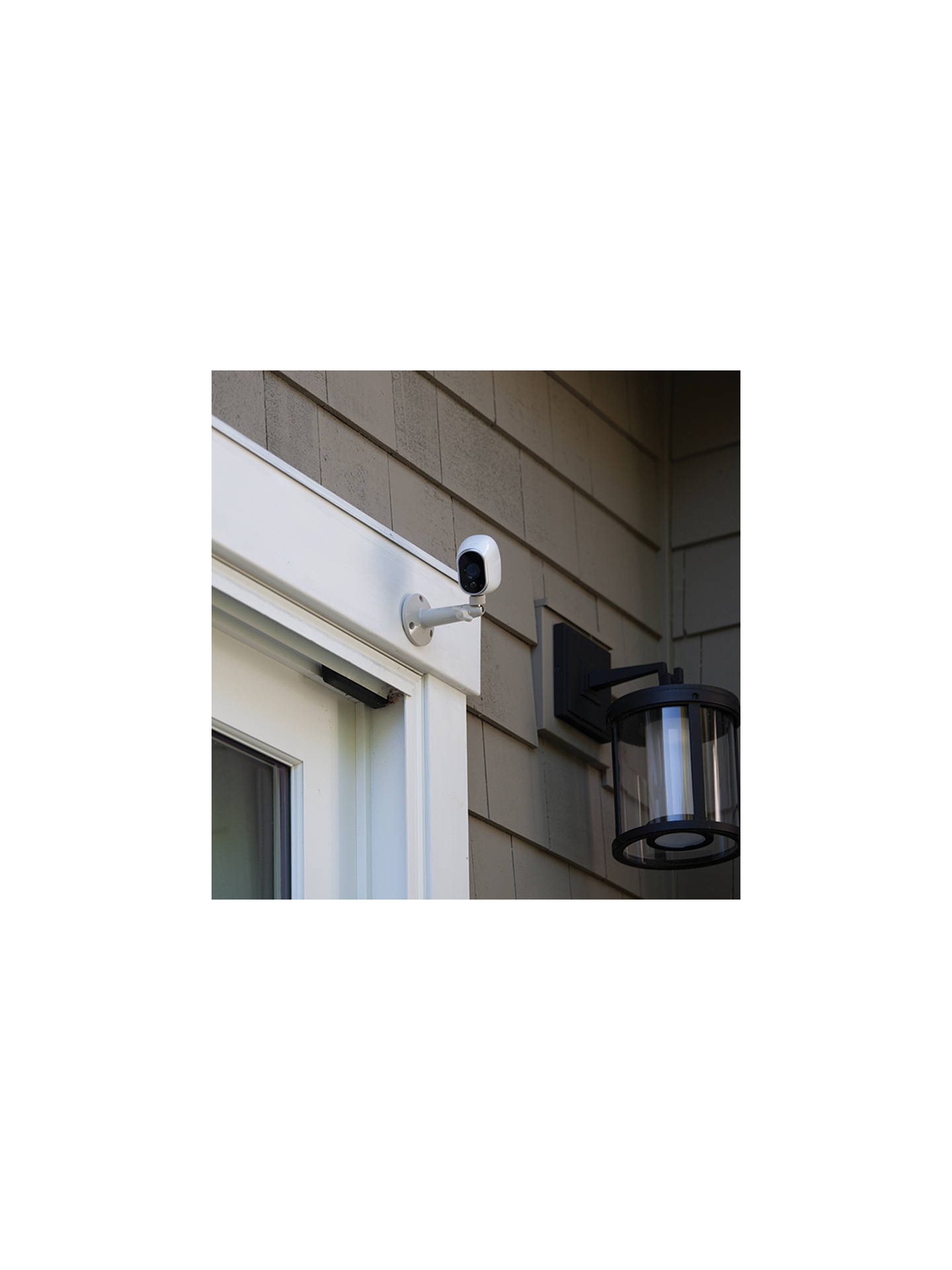 BuyNetgear Arlo Smart Security System With 3 HD Cameras, White Online at johnlewis.com