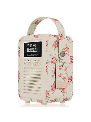 VQ Retro Mini DAB/FM Bluetooth Digital Radio, Emma Bridgewater Patterns