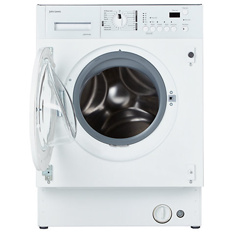 Buy John Lewis Jlbiwm1403 Integrated Washing Machine 7kg Load A Energy Rating 1400rpm Spin