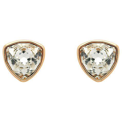 Buy Finesse Swarovski Crystal Small Stud Earrings Online at johnlewis.com