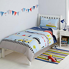 Buy little home at John Lewis On The Move Placement Duvet Cover and Pillowcase Set, Single Online at johnlewis.com