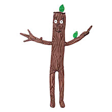 Buy Stick Man Plush Soft Toy Online at johnlewis.com