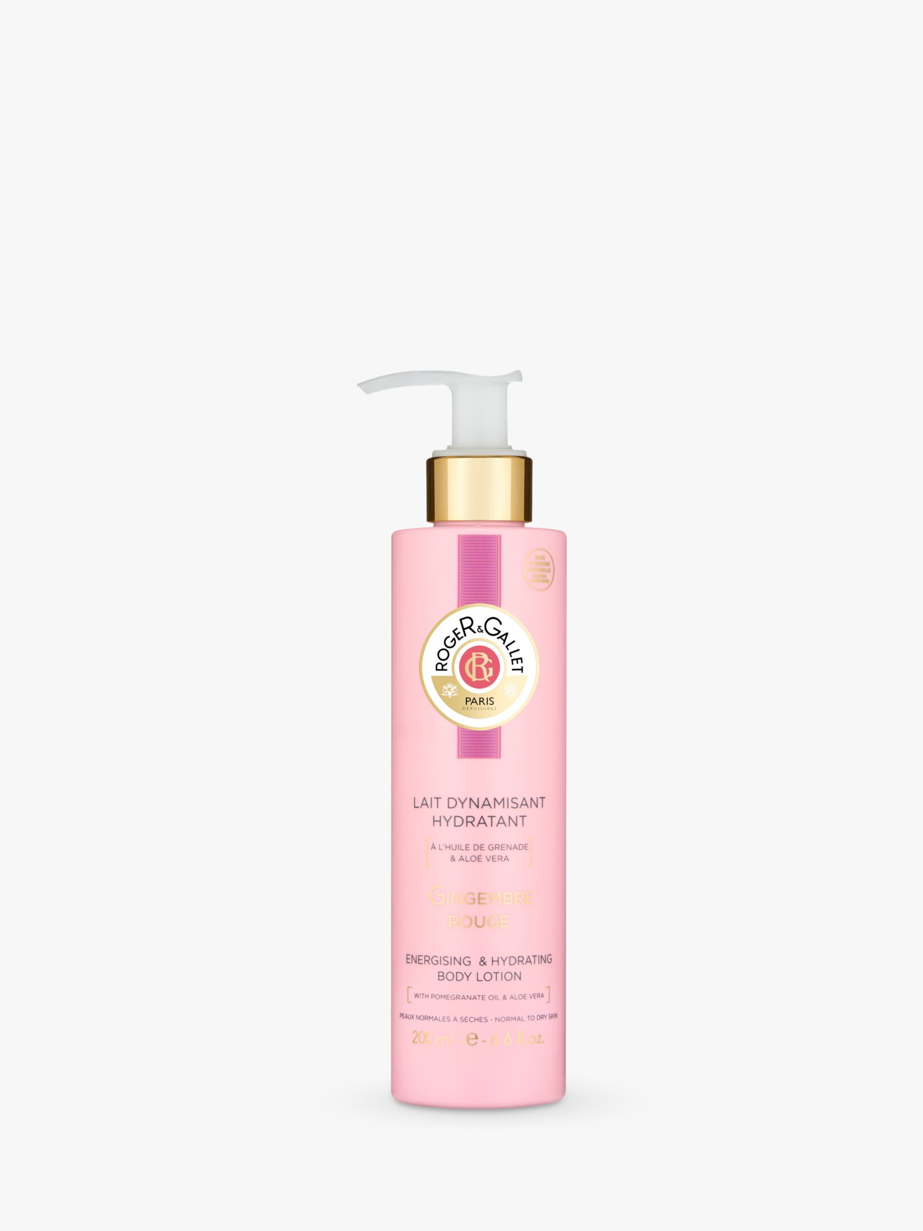 Roger & Gallet Roger & Gallet Gingembre Rouge Hydrating Body Lotion, 200ml