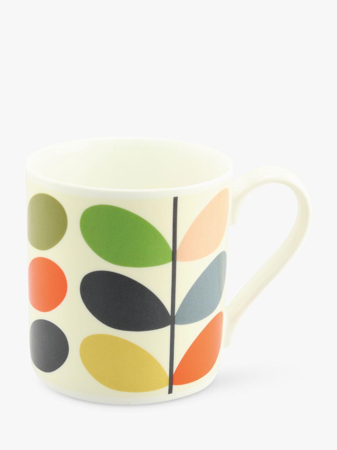 Orla Kiely Orla Kiely Linear Stem Large Mug, 400ml