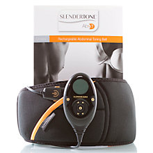 Buy Slendertone Abs S7 Unisex Toning Belt, Black Online at johnlewis.com