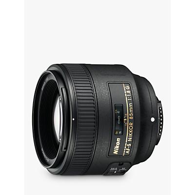 Nikon AF-S NIKKOR 85mm f/1.8G AF-S Telephoto Lens JAA341DA