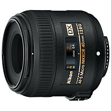 Buy Nikon AF-S 40mm f/2.8 G DX Compact NIKKOR Lens Online at johnlewis.com