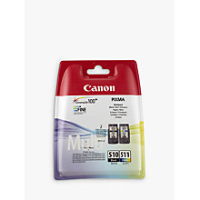 Buy Canon PG-510 / CL-511 Ink Cartridge Multipack, Pack of 2 Online at johnlewis.com