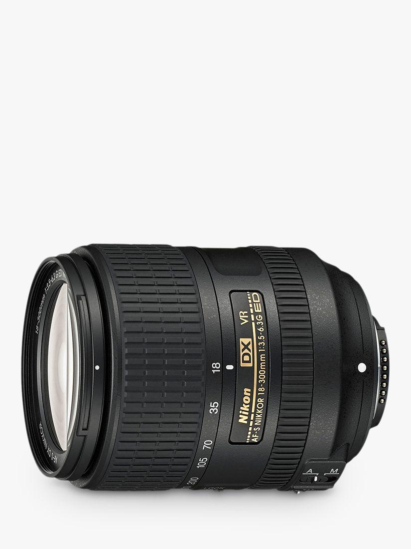 Nikon Nikon AF-S DX NIKKOR 18-300mm F/3.5-6.3G ED VR Wide Angle & Telephoto Lens
