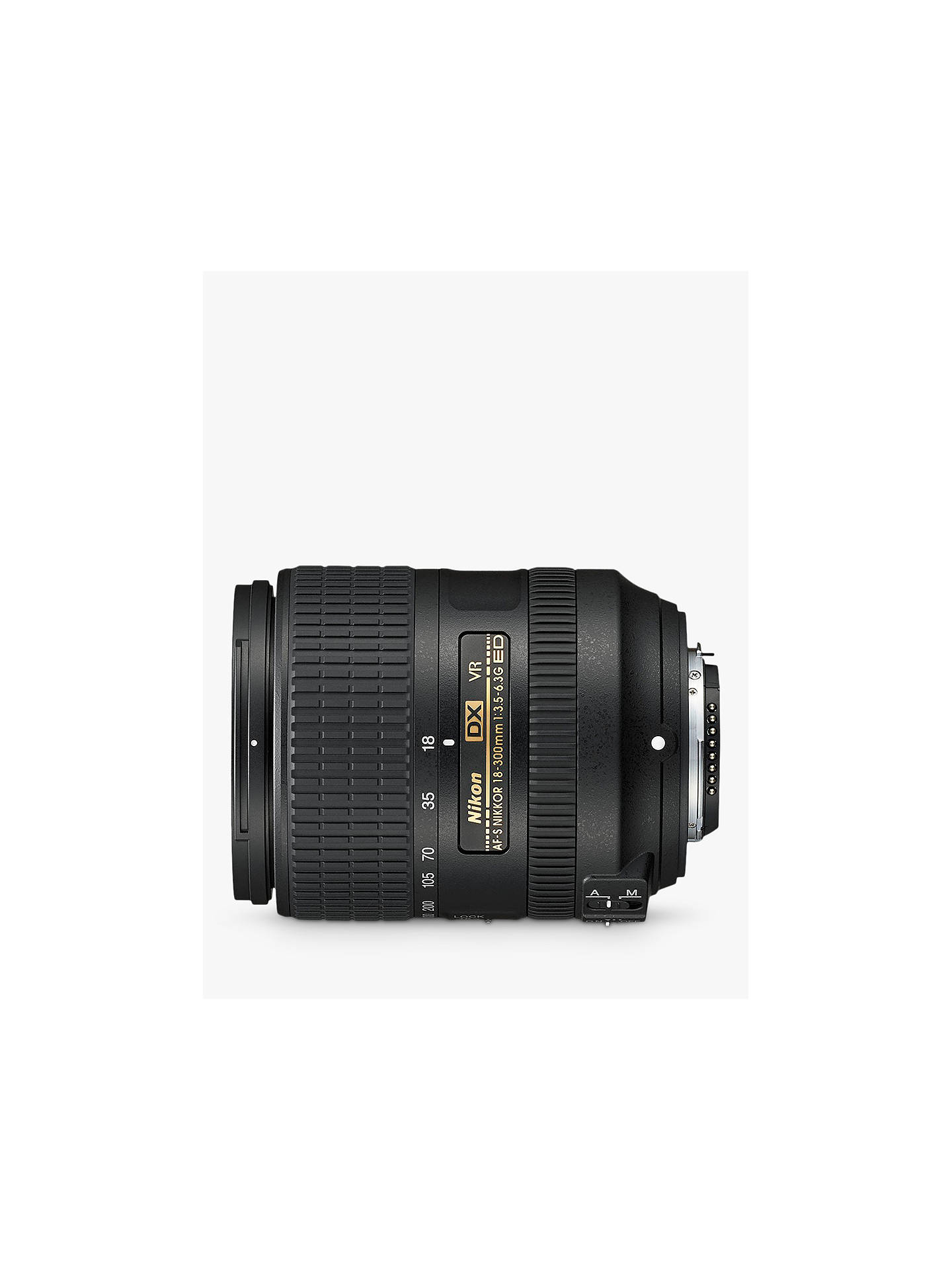 Buy Nikon AF-S DX NIKKOR 18-300mm F/3.5-6.3G ED VR Wide Angle & Telephoto Lens, Black Online at johnlewis.com