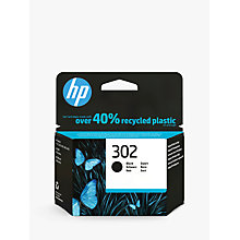Buy HP 302 Black Original Ink Cartridge Online at johnlewis.com