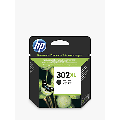 Image of HP 302 XL Black Ink Cartridge