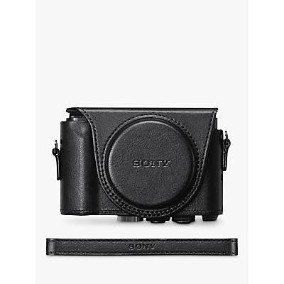 Sony LCJ-HWA Jacket Camera Case For Cyber-Shot HX90/WX500 Cameras, Black