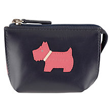 Buy Radley Heritage Dog Small Leather Coin Purse Online at johnlewis.com