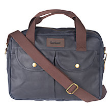 Buy Barbour Longthorpe Messenger Laptop Bag Online at johnlewis.com