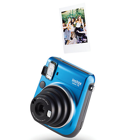 Buy Fujifilm Instax Mini 70 Instant Camera With 10 Shots Of Film, Selfi Mode, Built-In Flash & Hand Strap Online at johnlewis.com