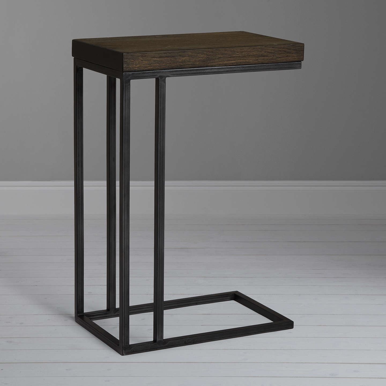 john lewis calia sofa side table dark at john lewis. Black Bedroom Furniture Sets. Home Design Ideas