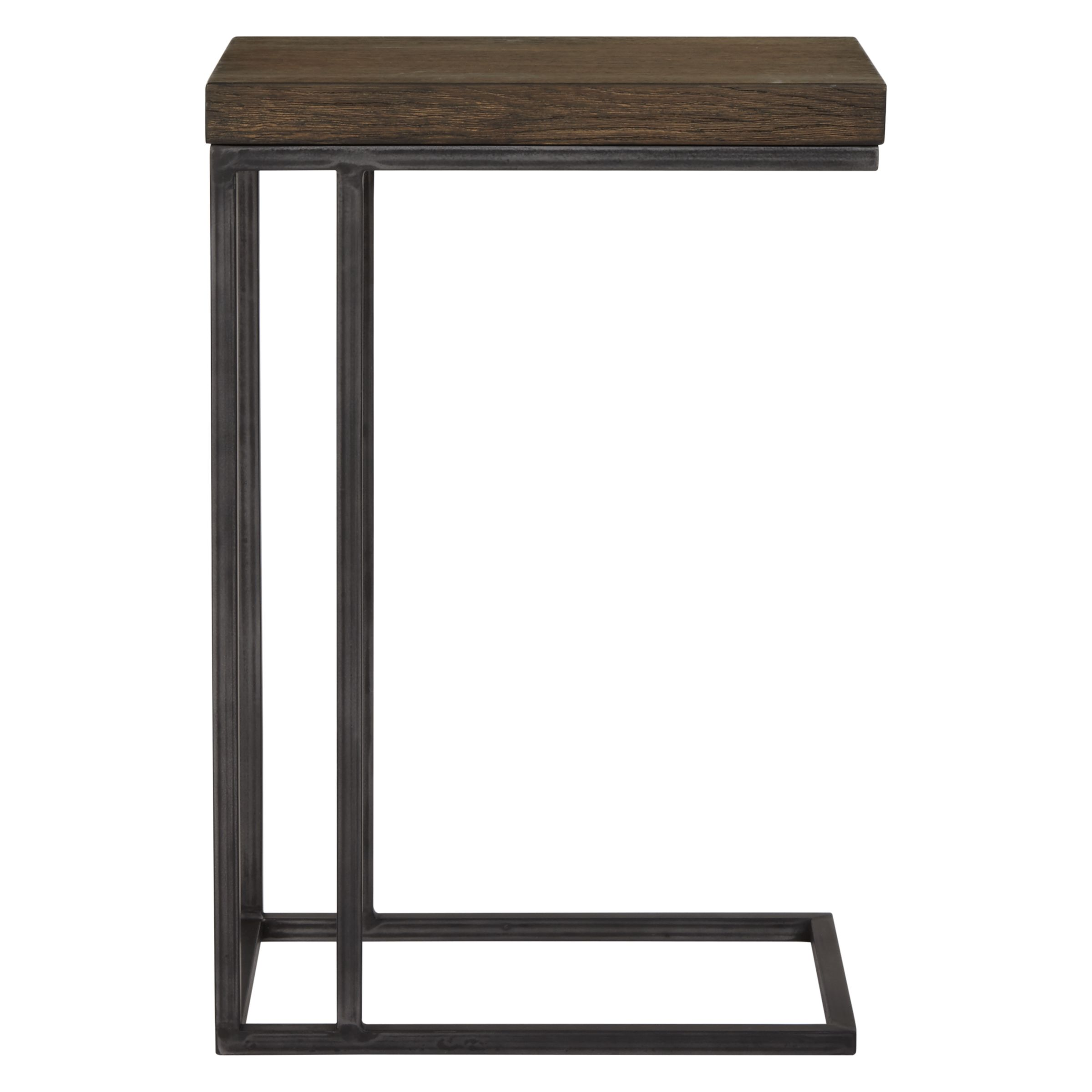 John Lewis Partners Calia Sofa Side Table Dark