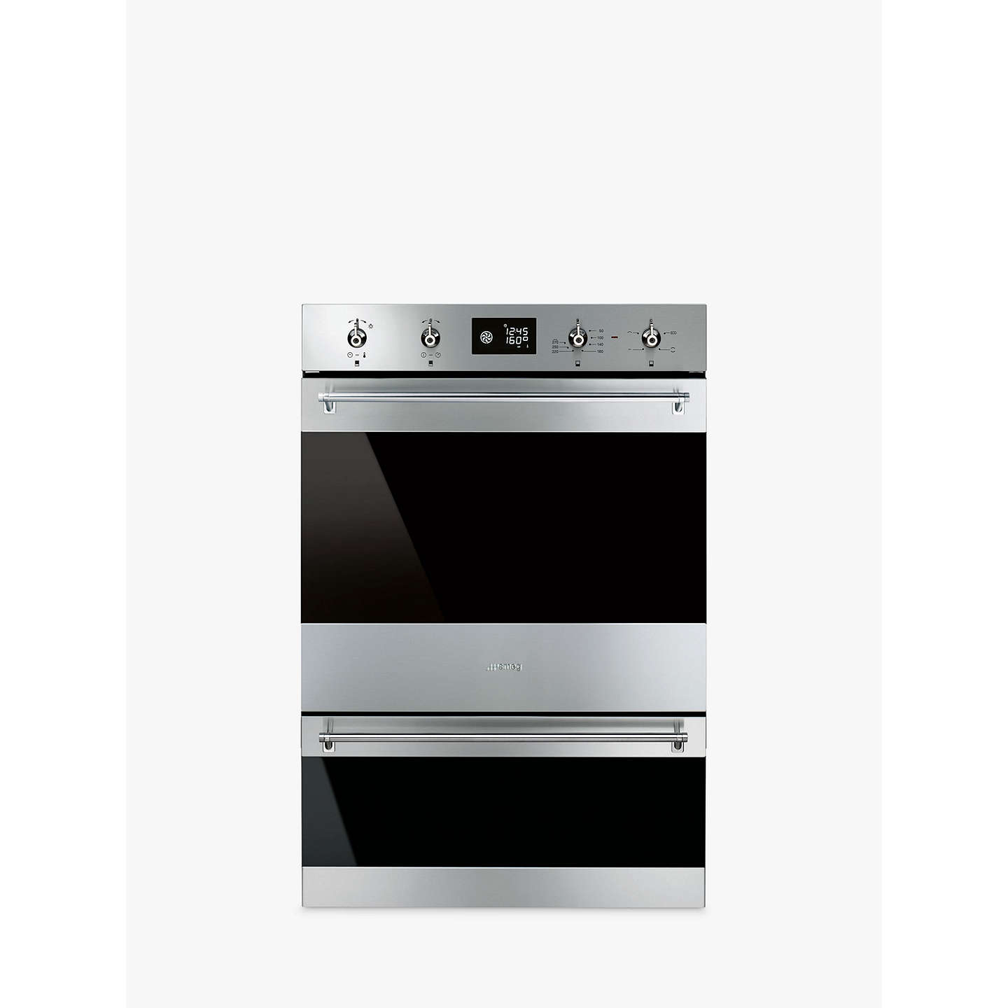 BuySmeg DOSP6390X Classic Built-In Multifunction Double Oven, Stainless Steel Online at johnlewis.com