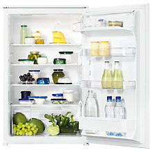 Buy Zanussi ZBA15021SA Built-In Larder Fridge, A+ Energy Rating, 54cm Wide Online at johnlewis.com