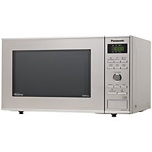 Buy Panasonic NN-GD371S Microwave and Grill, Stainless Steel Online at johnlewis.com