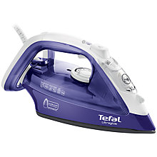 Buy Tefal Ultraglide FV4042 Steam Iron, Purple/White Online at johnlewis.com