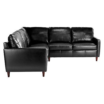 John Lewis Dalston Leather Corner Sofa