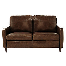 Buy John Lewis Dalston Leather Small 2 Seater Sofa Online at johnlewis.com