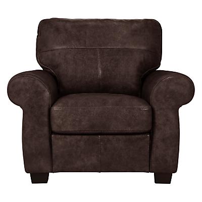 John Lewis Hampstead Leather Armchair