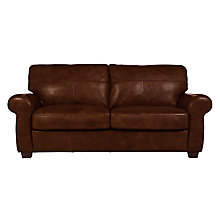 Buy John Lewis Hampstead Large 3 Seater Leather Sofa Online at johnlewis.com