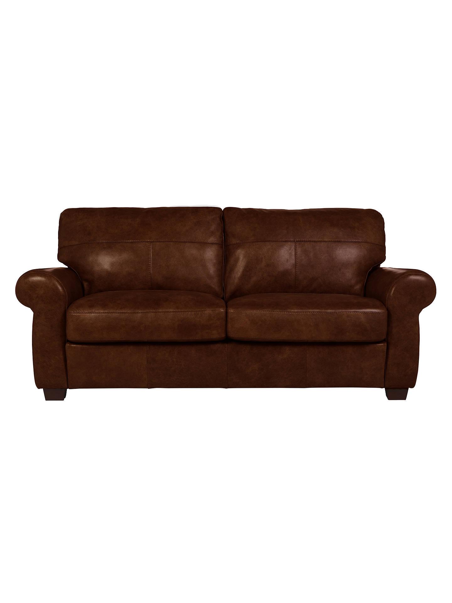 Hampstead Large 3 Seater Leather Sofa