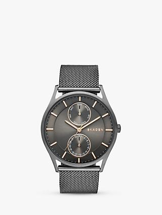 Skagen Men's Holst Chronograph Mesh Bracelet Strap Watch