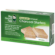 Buy Big Green Egg Charcoal Fire Starters, Box of 24 Online at johnlewis.com