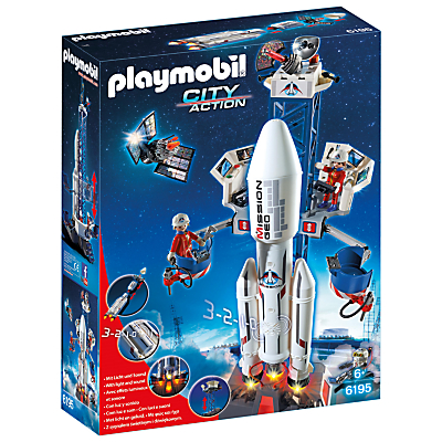 Click here for Playmobil City Action Space Rocket and Base Station