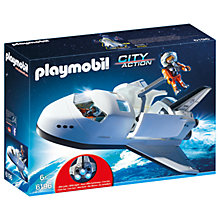 Buy Playmobil City Action Space Shuttle Set Online at johnlewis.com