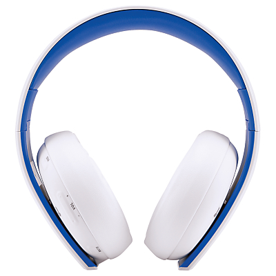 Image of Sony PlayStation Wireless Stereo Headset 2.0 for PS3 / PS4, White